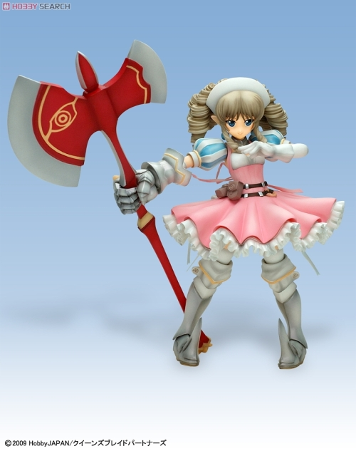 and why yes... we have adorable lolis with giant axes!