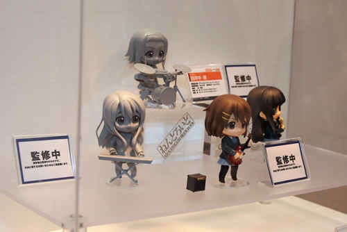 K-On! Nendoroids displayed at WonFes Summer 2009
