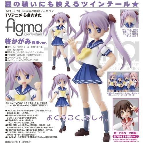 figma Hiiragi Kagami (Summer uniform ver.)