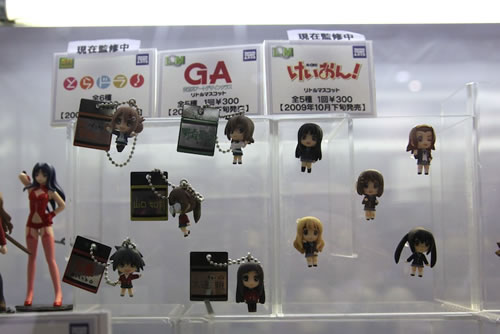 Gashapons -- cheaper compared to nendos. Will complete K-On! at all costs! *burning*