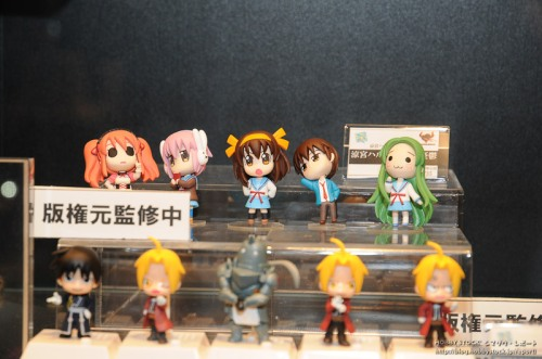 Haruhi Petit Figures and FMA ivoice figures