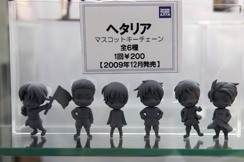 Hetalia Gashapons? Must have an Italy~!